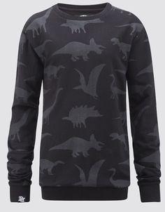 Buy Dino Shapes Crewneck at Drop Dead Clothing