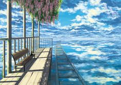 Over the horizon. (Beauty Landscapes Scenery)