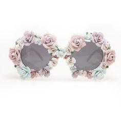 a-morir floral sunglasses
