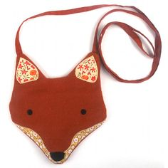 Little Felt Fox Purse Bag. I'm definitely getting my boyfriend to make this for me since it's out of stock.
