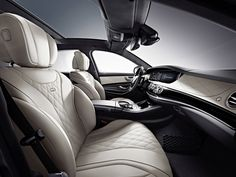 Mercedes-Benz W222 S600 Interior