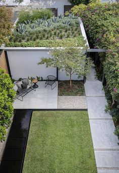 Lawn and Garden Tools Basics Mirror House, Woollahra - Secret Gardens Landscape Architecture Small Backyard Gardens, Backyard Garden Design, Small Garden Design, Back Gardens, Small Gardens, Backyard Landscaping, Outdoor Gardens, Backyard Ideas, Roof Gardens