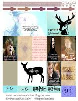 Happychondriac: Happy Planning (#5 Harry Potter)