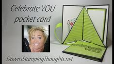 Hi Stampers, Happy Friday friends ! Today we will be making this awesome pocket card that can hold money, photos mine is holding a note insert with a gift card . It's such a simple card to make. Card Making Tips, Card Making Tutorials, Card Making Techniques, Making Ideas, Fancy Fold Cards, Folded Cards, Netflix Card, Pop Up Cards, Cool Cards