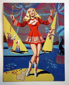 Mary Hartline / Super Circus, Paint by Number.