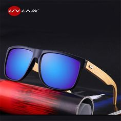 43791c71c37  FASHION  NEW UVLAIK Polarized Wooden Sunglasses Men Bamboo Sun Glasses  Women Brand Designer Original