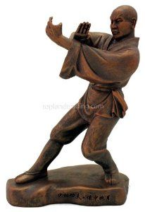 Kungfu Series Shaolin Monk Statue - Designed from a mold sculpted by a real Shaolin monk, this highly detailed statue makes a great gift for any martial arts lover.