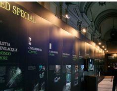 Studio marchio, cartellonistica, libro per l'evento LED light exhibition design del Comune di Milano, che ha coinvolto designer di fama internazionale.