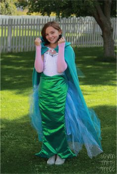 seven thirty three - - - a creative blog: DIY Mermaid Costume