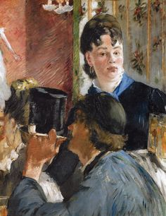 Edouard Manet - Woman Serving Beer, 1879 at Musée d'Orsay Paris France   by mbell1975