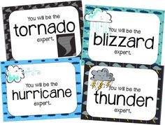 Soaring Through Second Grade: Learning All About Weather with QR Codes {FREEBIE}
