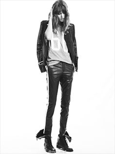 Freja Beha Erichsen for MO&Co Spring Summer 2014