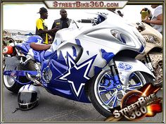 Suzuki Hayabusa gsx 1300r nitrous with a lot of custom chrome! Description from streetbike360.com. I searched for this on bing.com/images