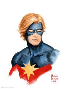 Captain Marvel - Paolo Rivera