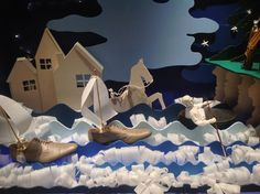 retail window displays 2014 | Retail Focus Blog.  This would be an adorable fathers day window