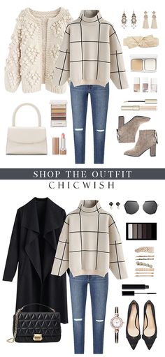 Winter Fashion Outfits, Fall Winter Outfits, Autumn Winter Fashion, Love Fashion, Fashion Looks, Womens Fashion, 90s Fashion, Korean Fashion, Cute Casual Outfits