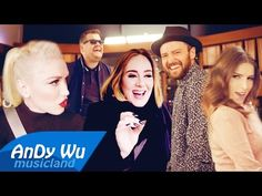 CAN'T STOP THE FEELING! (Megamix) - Justin Timberlake, AK, Gwen, Spice Girls, Adele & more - YouTube