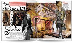 christian lacroix designer/images | Christian Lacroix Spread 1