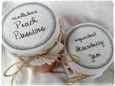 *Rook No. 17: recipes, crafts & creative nesting*: Personalized Fabric Mason Jar Label Tutorial