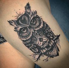 Tatuaje de búho y catrina  realizado en nuestro centro de Vaguada de Madrid.    #tattoo #tattoos #tattooed #tattooing #tattooist #tattooart #tattooshop #tattoolife #tattooartist #tattoodesign #tattooedgirls #tattoosketch #tattooideas #tattoooftheday #tattooer #tattoogirl #tattooink #tattoolove #tattootime #tattooflash #tattooedgirl #tattooedmen #tattooaddict#tattoostudio #tattoolover #tattoolovers #tattooedwomen#tattooedlife #tattoostyle #tatuajes #tatuajesmadrid #ink #inktober #inktattoo