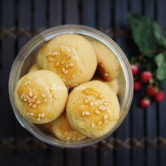 I have some leftover salted eggs from making mooncakes and decided to use it for making salted egg yolk cookies. I experimented and came ...
