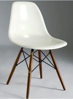 Trestle Wood Leg Side Chair
