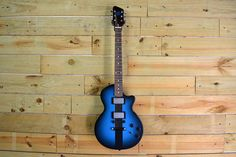 This blue Reedsdale with Railhammer pickups is a part of our in-house design collection and will be available for purchase at Austin City Limits Music Fest. This blue is a custom color and is not available on the configurator. Design your custom guitar at https://monikerguitars.com.