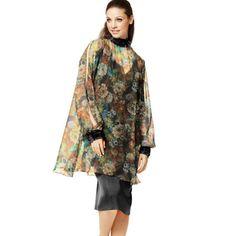 Šifon Flower Leanda 2 - Polyester - barevny mix High Neck Dress, Flowers, Dresses, Fashion, Turtleneck Dress, Vestidos, Moda, Fashion Styles, Florals