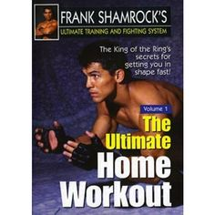 Frank Shamrock Training & Fighting #1 Ultimate Home Workout DVD MMA Grappling