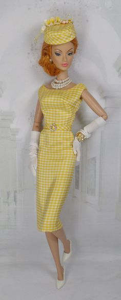 Be My Sunshine for Silkstone Barbie and by MatisseFashions on Etsy  i wish I have this outfit for my Barbie.