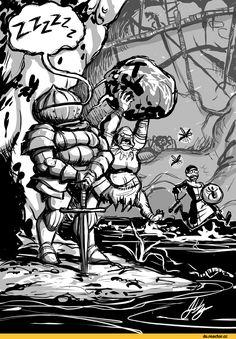 Siegmeyer of Catarina,DS персонажи,Dark Souls,фэндомы,Chosen Undead,DS art