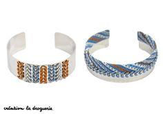 On adore ces deux jolies manchettes !! #ladroguerie #bijoux #bracelet