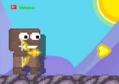 Golden Heart Bow! It is over 1130 was in Growtopia! It can pull peoples