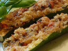Baked Zucchini @Cowgirl Stephi - thought of you when I saw this delish zucchini recipe.  I've been following Linda's Italian Table since her start and she's always got awesome recipes.  Enjoy!