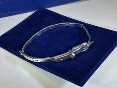 Armband Gliederarmband Silber 925 60er Jahre SA194 von Schmuckbaron