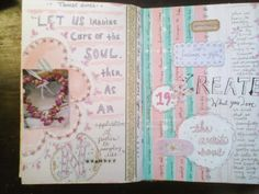 The Painted Flower: more art journaling...