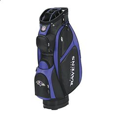 Golf Bags - Baltimore Ravens Golf Bag