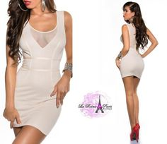 Vestido corto de moda diseño super star Sujet [3]
