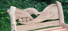 handcrafted wave bed