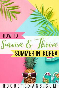 Summer in Korea is beautiful, but these tips to beat the heat will help you enjoy it even more! Bonus: most of these work for other countries! Travel Guides, Travel Tips, Travel Destinations, China Travel, Japan Travel, South Korea Travel, Blogger Tips, Travel Abroad, Summer Travel