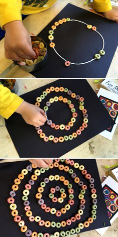 Crafts for Toddlers: A simple, hands-on, craft for toddlers to teach them about circles and shapes!