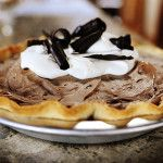 French Silk Pioneer Woman Pie