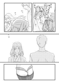 唐崎🎃コミック1巻発売中 (@karasaki_th) さんの漫画   70作目   ツイコミ(仮) Fate Anime Series, Type Moon, Fate Stay Night, Kara, Fan Art, My Favorite Things, Comics, Weapon, Onion