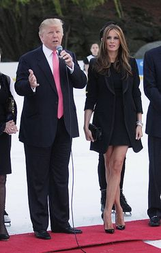 Far too short of a dress for a First Lady! We're not looking for a sex symbol.... we have far too many of those, already!