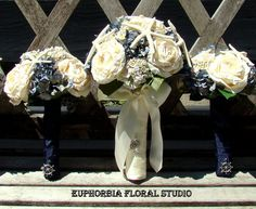 Nautical Floral and Starfish Wedding Package. by EuphorbiaFloral, $195.00
