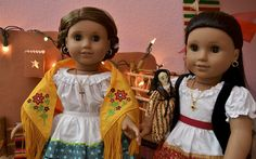 All4dolls photo: Marisol in Josefina's Outfits | American Girl Playthings