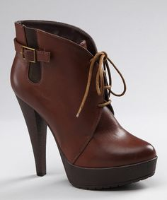 LOVE these!!  Cognac Adiras Bootie by Charles David