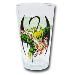 Iron Fist Clear Pint Glass
