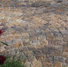 Stonemarket Paving- Granite- Beige- SETTS 50mm Thickness