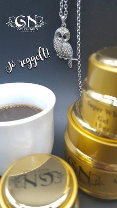 #GoldMorning #goodmorning #jóreggelt #owl #coffee #GoldNails #műköröm #műkörömalapanyagok #nails #nailartproducts #goldday #golden #sweet #wearegolden